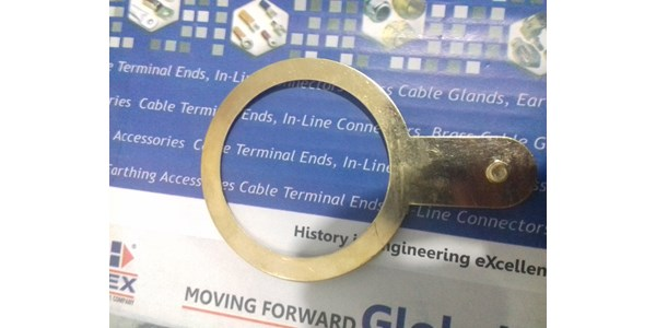 earth tag for cable gland size m 75