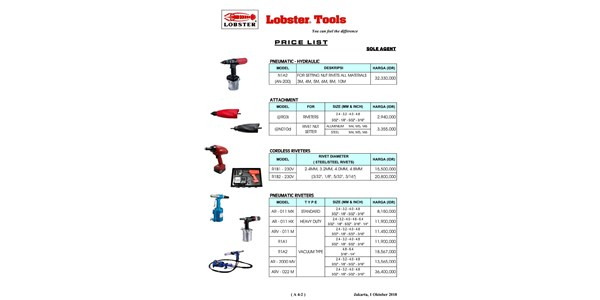 lobster tools - attachment
