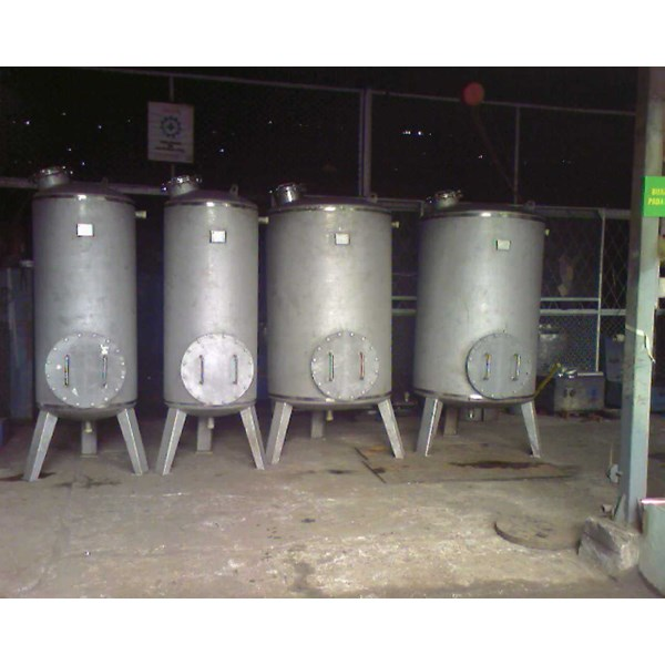 tank,vessel,ducting,dust collector.