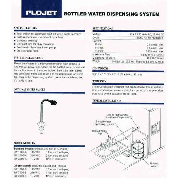 bottle water dispensing system