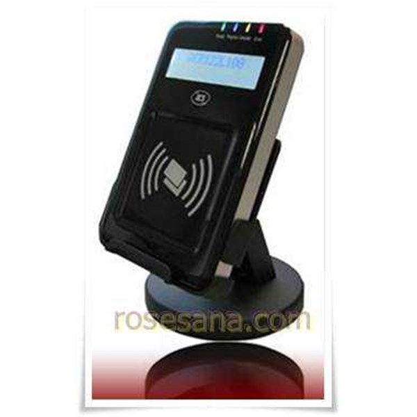 acr122l visualvantage nfc reader with lcd