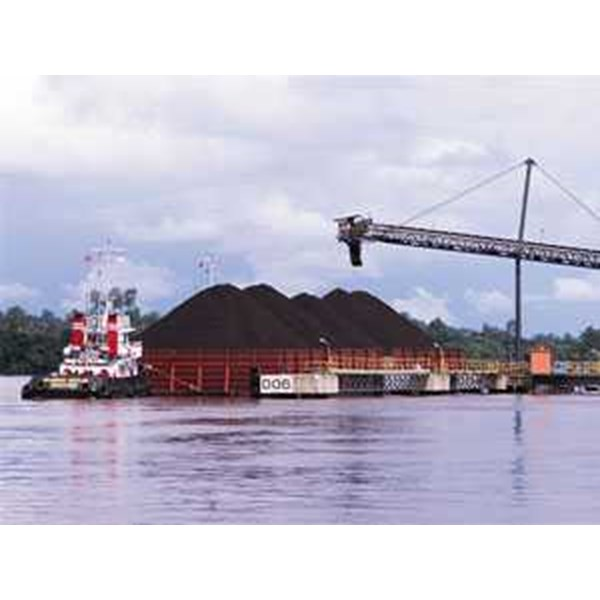 coal - fob barge terms