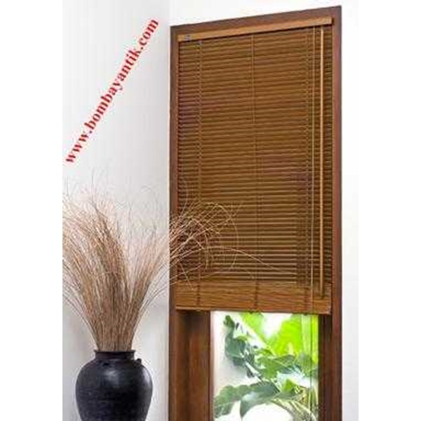 wooden blinds, krey kayu, tirai kayu-1