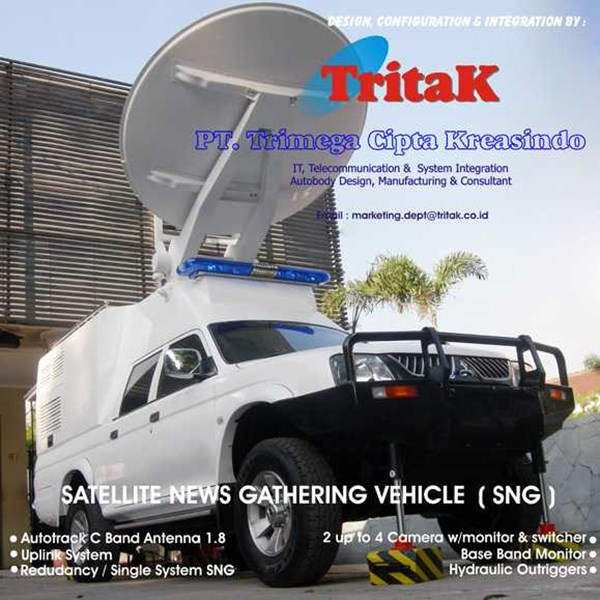 sng van for television / broadcast / military