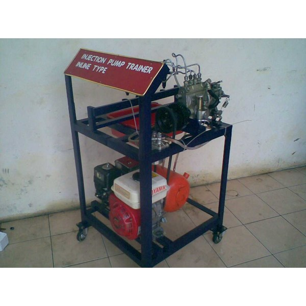 alat peraga otomotif engine stand trainer otomotif pompa injection
