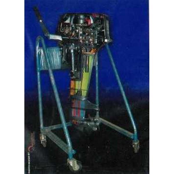 out boat sectioned stand trainer