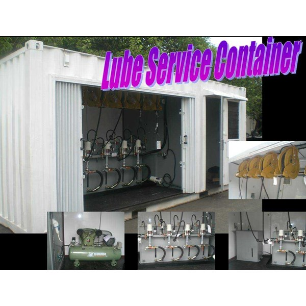 lube service container