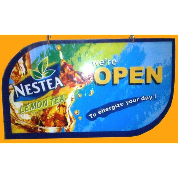 jual acrylic open close