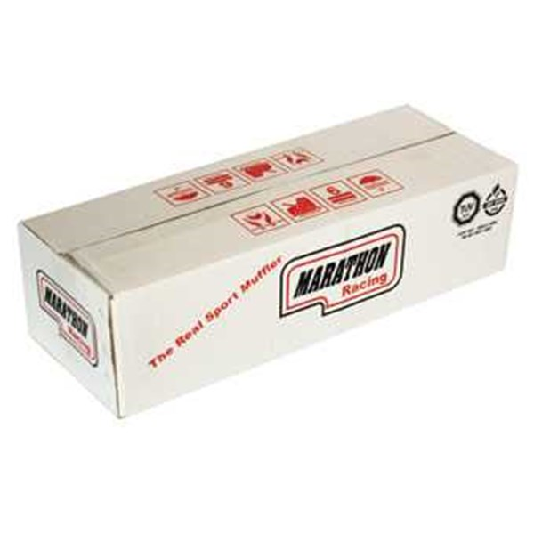 (8)white karton box