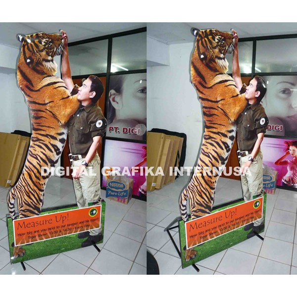 3d pop up taman safari figure