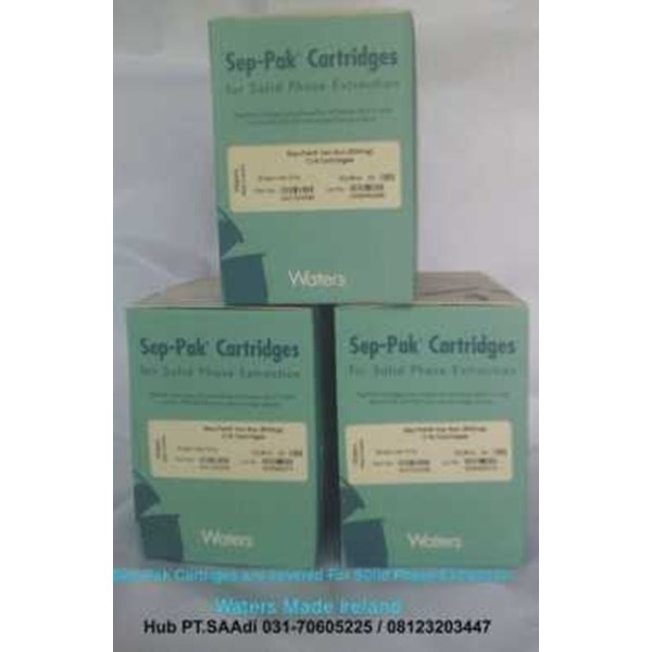waters sep-pak cartriges for solid phase extraction