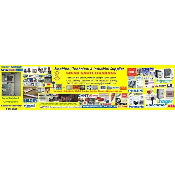 electrical, technical and industrial supplier
