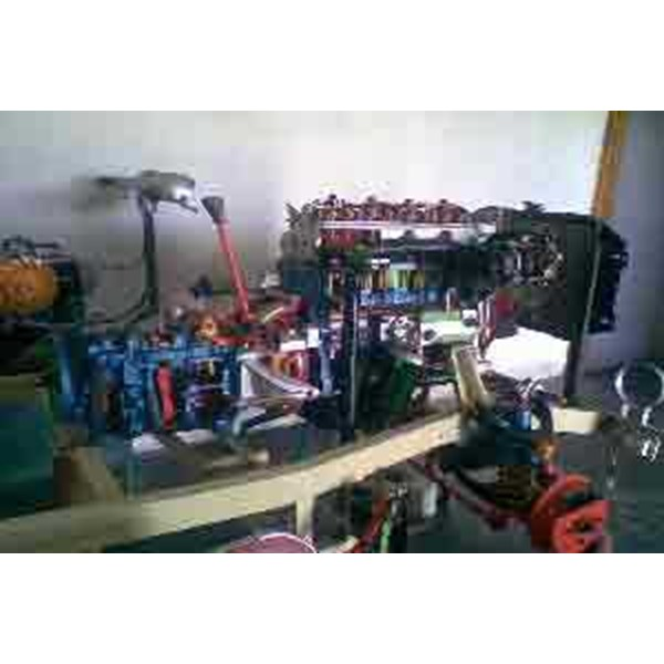 engine stand trainer alat peraga otomotif car trainer sectioned lengkap orisinil body