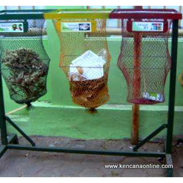 tempat sampah berseka® classified trash net [ b]