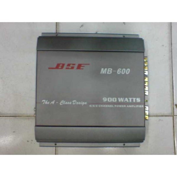 amplifier mobil 4 ch bse mb 600