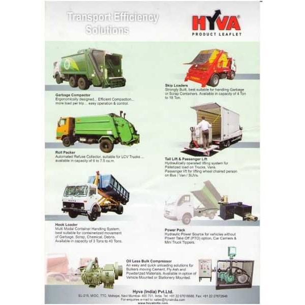 """HYVA"""" is a name synonym with """" Transport Solution Providers""""   oleh"""