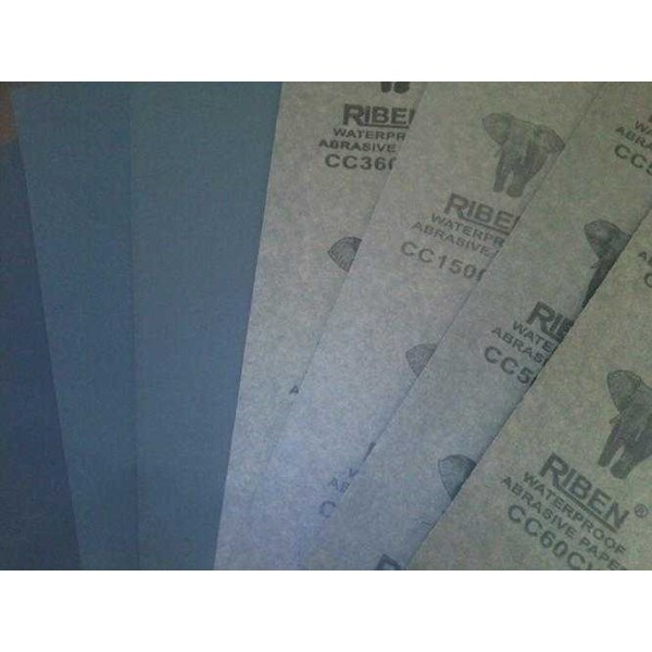 abrasive paper water proof