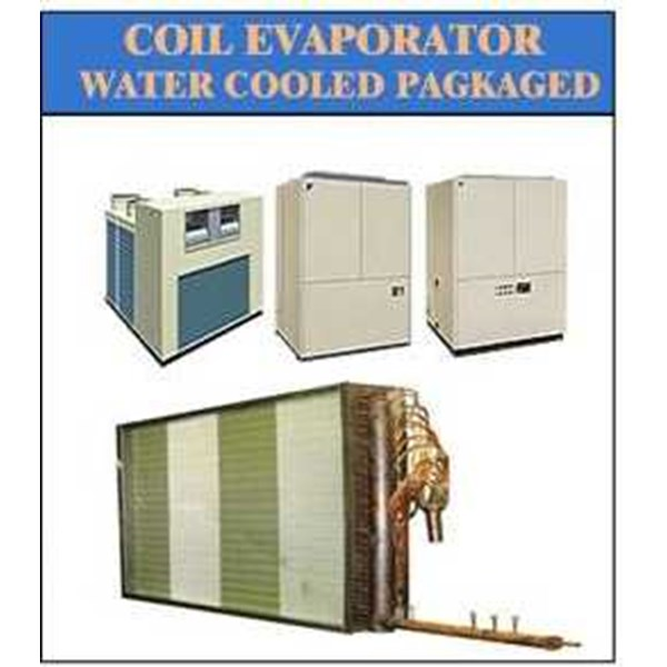 evaporator coil water cooled packaged
