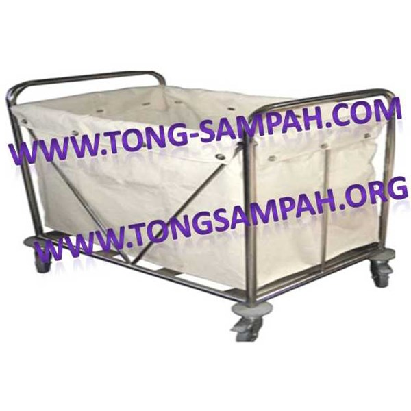 linen trolley, loundry trolley, trolley loundry, linen cart, loundry cart, tolley pakaian, kitchen tolley, room boy trolley, / room boy cart/ bell boy/ house keeping cart/ janitor trolley, house keeping trolley, double bucket
