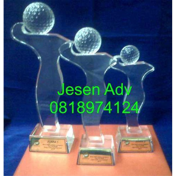 jual trophy golf flight