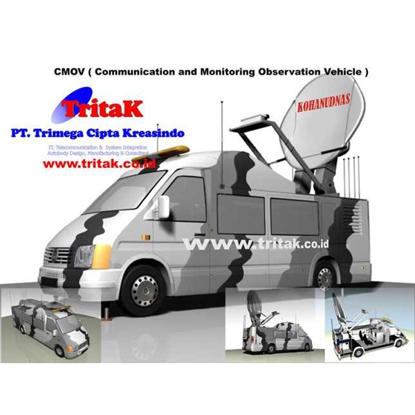 cmov ( communication and monitoring, observation vehicle