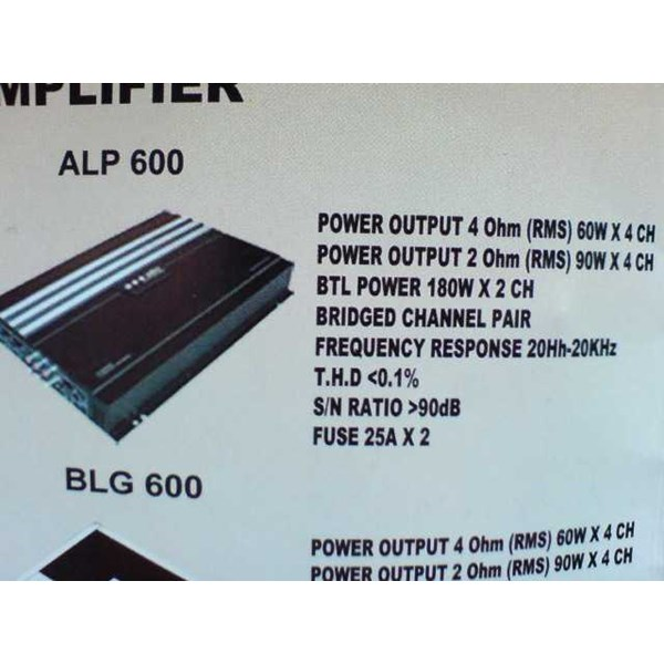 power 4 channel ads