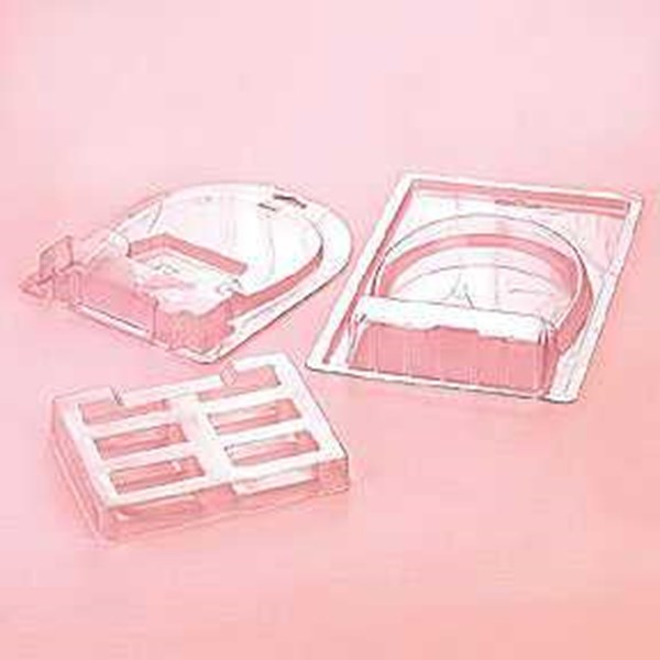 vaccum forming tray pet, pvc, hips, pp