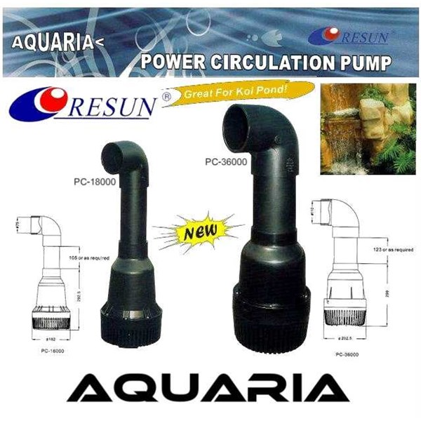 resun pc series power circulation pump