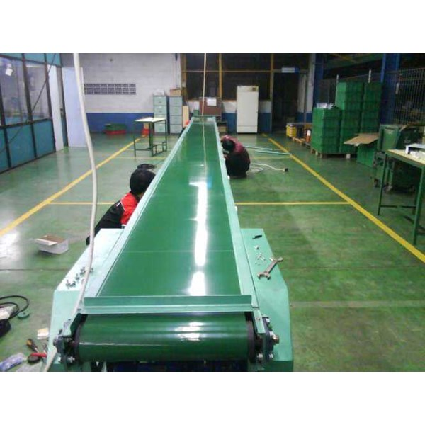 flate belt conveyor