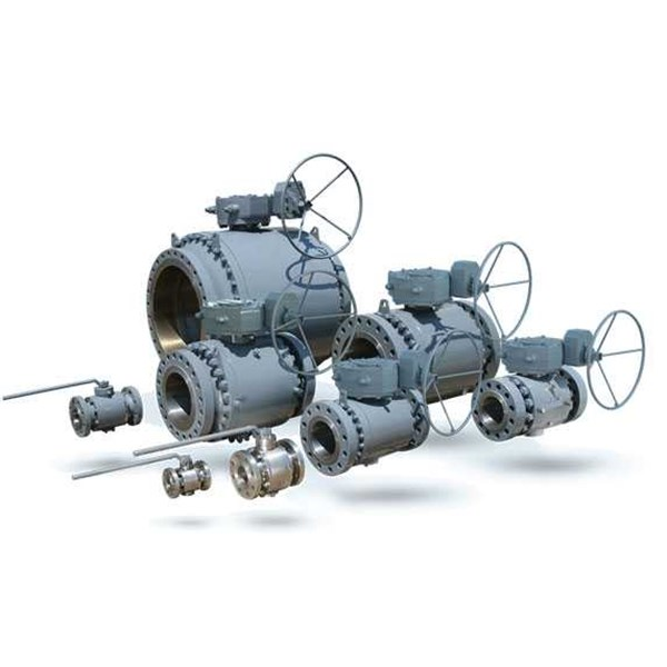 forged steel trunion mounted ball valve