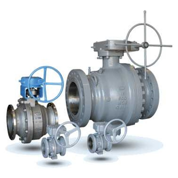 cast steel trunion mounted ball valve