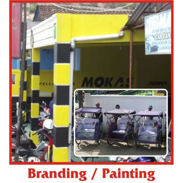 branding outlet / painting
