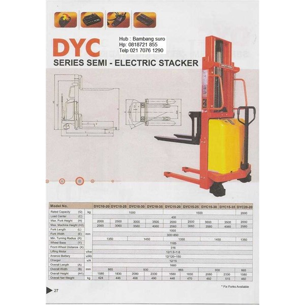semi electric stacker-1