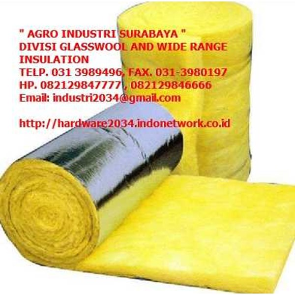 glasswool, di surabaya