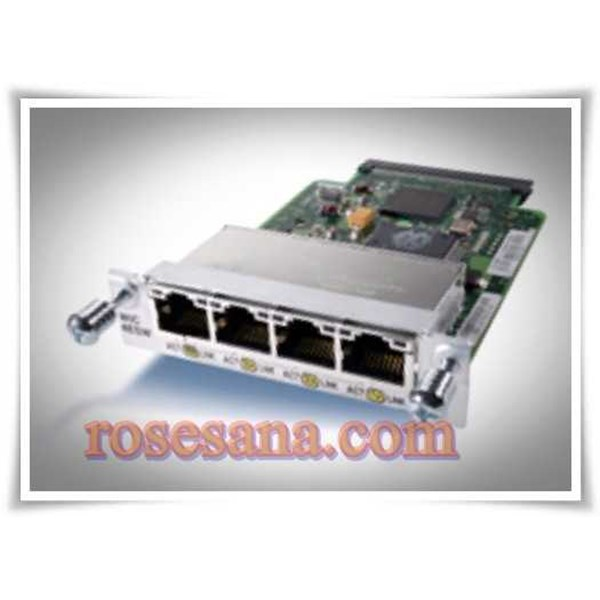 used genuine cisco modul, wic-4esw