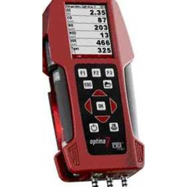 handheld gas analyzer, optima 7