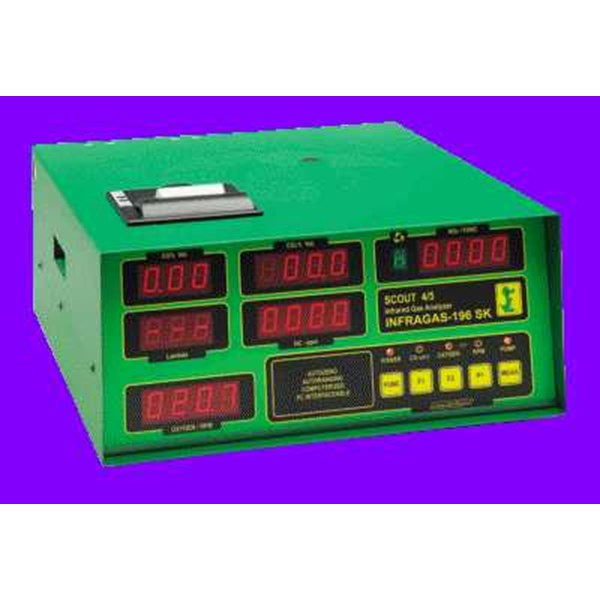 assemblate gas analyzer - infragas-196 - approved for motorcycles