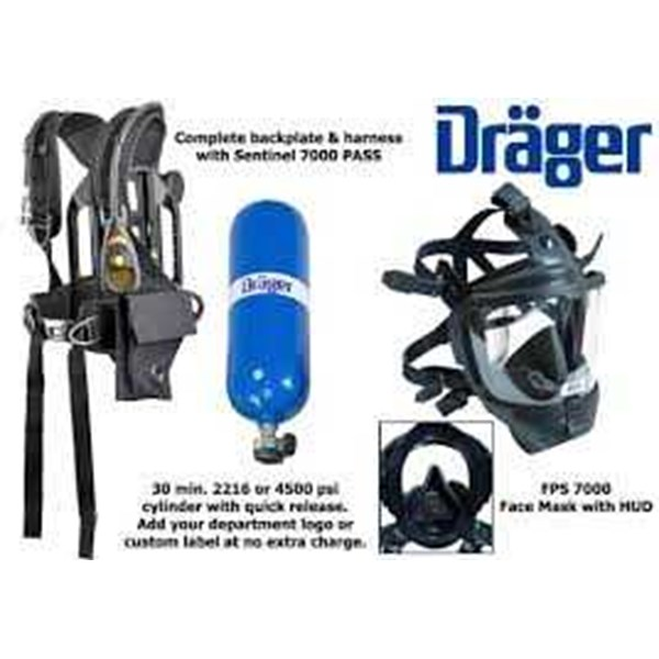 Drager PssR 5000 Compressed Air Breathing Apparatus