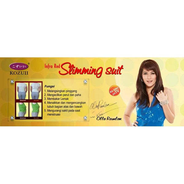 jual new slimming suit double infrared natasha-kozui murah 349rb surabaya 087852494953-2