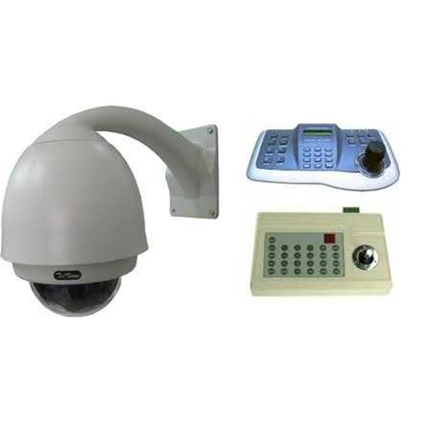 cctv makassar - paket cctv telview 3 ( outdoor speed dome)
