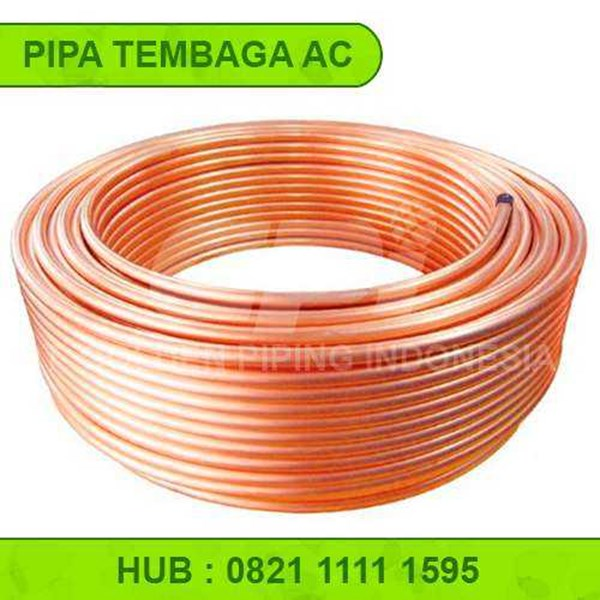 Jual PIPA TEMBAGA COPPER PIPE COPPER TUBE PIPA CHILER PIPA