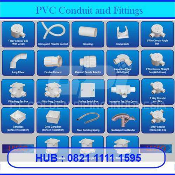 pvc conduit, trunking and fittings-2