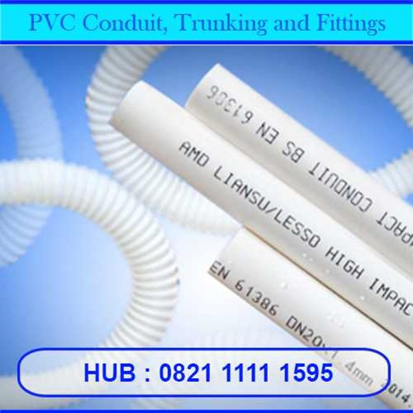 pvc conduit, trunking and fittings-1