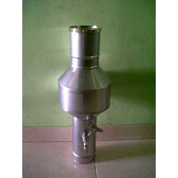 tabung curah hujan stainless / ombrometer, call 29433824