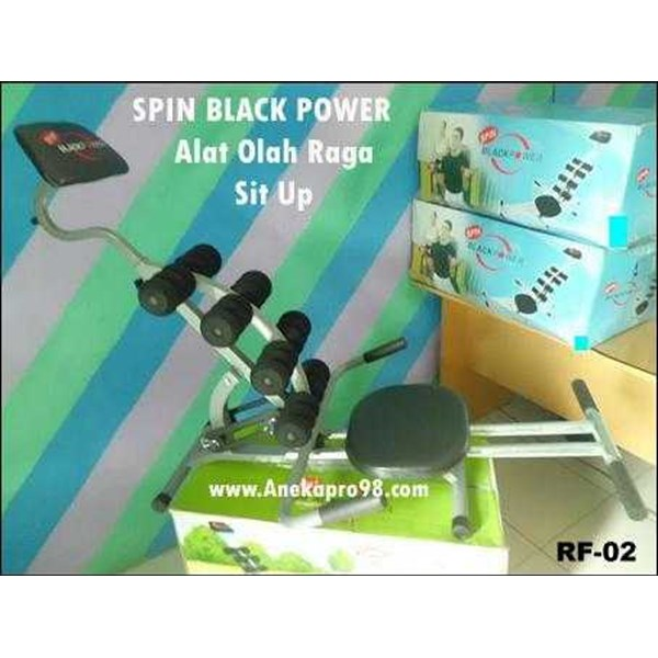 alat fitness spin black power