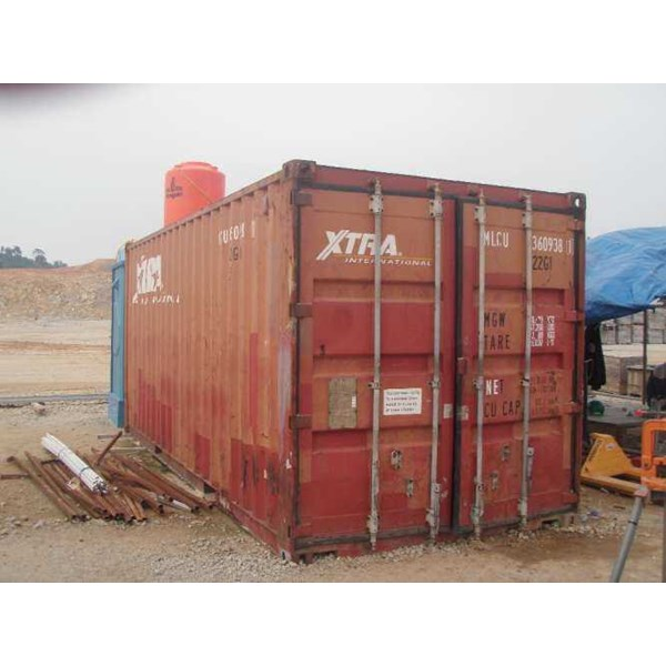 4 unit container ( dry container 20 feet)