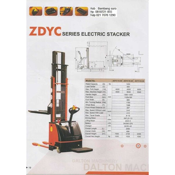 full electric stacker-2
