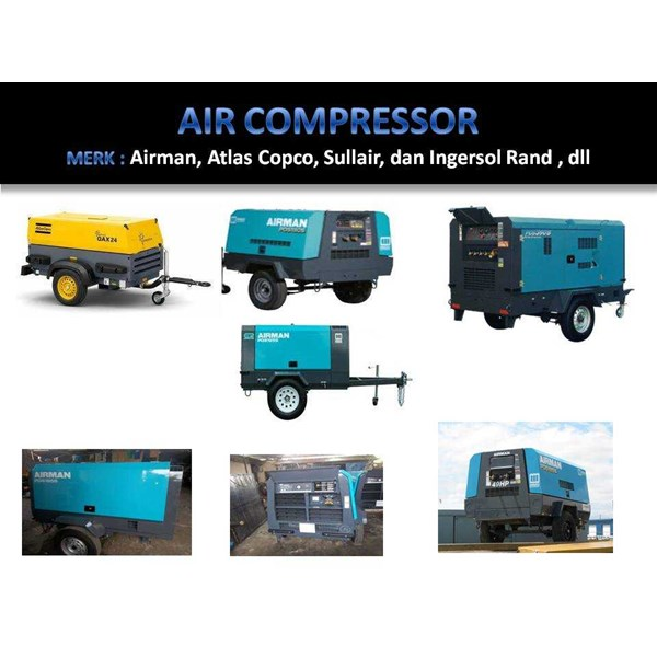 rental air compressor 125 - 185 - 265 - 390 cfm