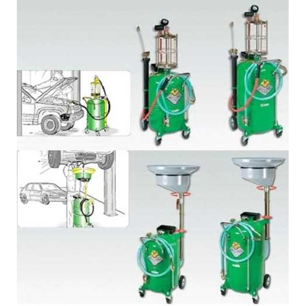 pompa oli pneumatic/oil suction drainer lubrication pump