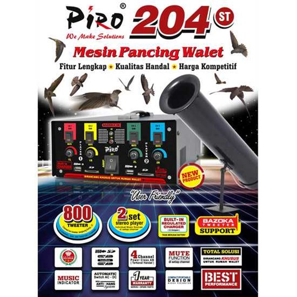 * mesin pancing walet piro 204st * low voltage ..